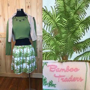 Bamboo traders palm trees skirt/shorts/skorts